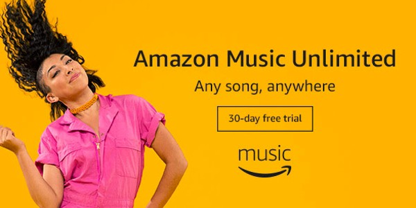 Amazon Music Unlimited 30-Day Free Trial